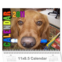 2011 By Sheri$ Pullen   Wall Calendar 11  X 8 5  (12 Months)   Pois43s4gvvf   Www Artscow Com Cover