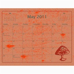 2011 By Sheri$ Pullen   Wall Calendar 11  X 8 5  (12 Months)   Pois43s4gvvf   Www Artscow Com May 2011