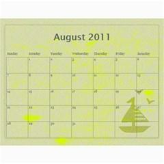 2011 By Sheri$ Pullen   Wall Calendar 11  X 8 5  (12 Months)   Pois43s4gvvf   Www Artscow Com Aug 2011