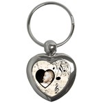 Must be the Music Heart Keyring - Key Chain (Heart)