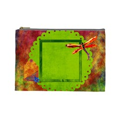 Tye Dyed Large Cosmetic Bag 1 By Lisa Minor   Cosmetic Bag (large)   3t63psqbpao6   Www Artscow Com Front