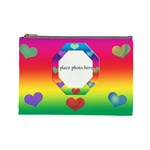 All About Love Cosmetic Lg - Cosmetic Bag (Large)