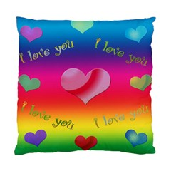 All About Love Cushion By Kdesigns   Standard Cushion Case (two Sides)   8t2xd8hrsjkl   Www Artscow Com Front