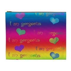 Allaboutlove Cosmetic Xlg By Kdesigns   Cosmetic Bag (xl)   Nbay9ddp0pos   Www Artscow Com Front