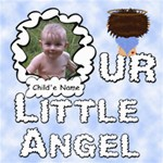 Our Little Angel Boy Scrapbook Pages 8x8 - ScrapBook Page 8  x 8