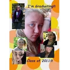 Graduation Cards  By Kayla   Greeting Card 5  X 7    4b45447onieb   Www Artscow Com Front Cover