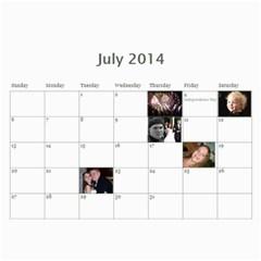 2011 By Kim   Wall Calendar 11  X 8 5  (12 Months)   Ld4ba6tx2oc8   Www Artscow Com Jul 2014