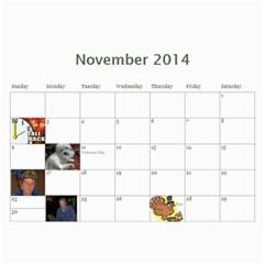 2011 By Kim   Wall Calendar 11  X 8 5  (12 Months)   Ld4ba6tx2oc8   Www Artscow Com Nov 2014
