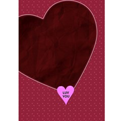 Be Mine   All Mine Valentine Card By Lil    Greeting Card 5  X 7    Niw8irk5z9ke   Www Artscow Com Back Cover