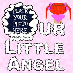 Our Little Angel Girl Scrapbook Pages 12x12 By Chere s Creations   Scrapbook Page 12  X 12    Qnf574xwi37l   Www Artscow Com 12 x12 Scrapbook Page - 1