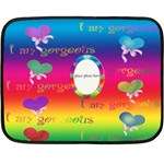 allaboutlove minifleece - Fleece Blanket (Mini)