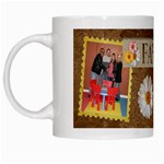 Family Flower Mug - White Mug