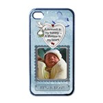 It s A Boy Apple iPhone Case - Apple iPhone 4 Case (Black)