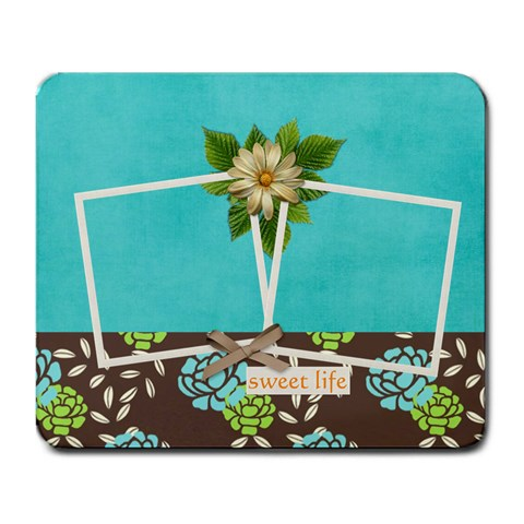 Mouse Pad  Sweet Life By Jennyl   Large Mousepad   Dthsqz1i77bz   Www Artscow Com Front