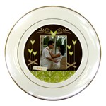 Porcelain Plate- LOVE