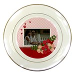 Porcelain Plate- Love2