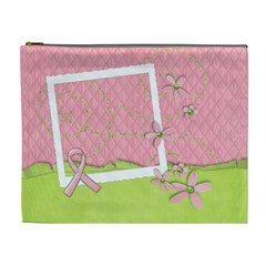 Breast Cancer Awareness  Cosmetic Bag Xl By Mikki   Cosmetic Bag (xl)   Nzgl3q343786   Www Artscow Com Front