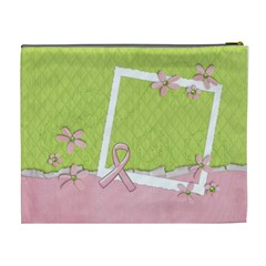 Breast Cancer Awareness  Cosmetic Bag Xl By Mikki   Cosmetic Bag (xl)   Nzgl3q343786   Www Artscow Com Back