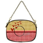 Love bag - Chain Purse (One Side)