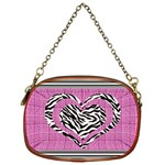 Heart bag - Chain Purse (One Side)