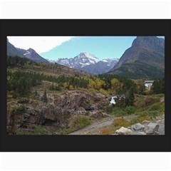 Glacier Ruth By Nicole   Wall Calendar 11  X 8 5  (12 Months)   9c0bywhe6pyr   Www Artscow Com Month