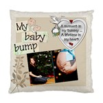 My Baby Bump Pillow - Standard Cushion Case (Two Sides)