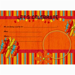 Extreme Fun Party Invitations By Bitsoscrap   5  X 7  Photo Cards   Oaeczuqo52qc   Www Artscow Com 7 x5 Photo Card - 4