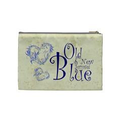 Just Married Medium Cosmetic Bag By Catvinnat   Cosmetic Bag (medium)   H68yec8c7kds   Www Artscow Com Back