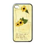 Love, word art--iphone case template (black) - Apple iPhone 4 Case (Black)