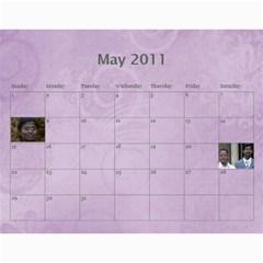 Calender 2011 By Kezia Finny   Wall Calendar 11  X 8 5  (12 Months)   36codypdwoy4   Www Artscow Com May 2011