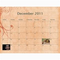 Calender 2011 By Kezia Finny   Wall Calendar 11  X 8 5  (12 Months)   36codypdwoy4   Www Artscow Com Dec 2011