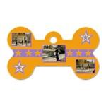 Little star dog tag - Dog Tag Bone (One Side)
