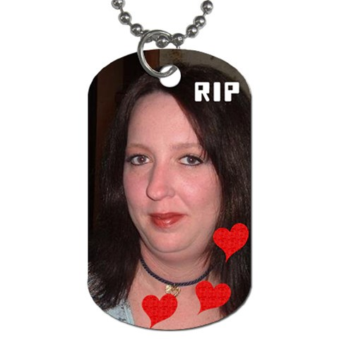 Trina By Pamela Hansen   Dog Tag (one Side)   J85oub6uomib   Www Artscow Com Front
