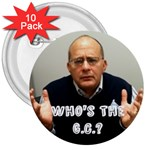 Who s the G.C.? - 3  Button (10 pack)