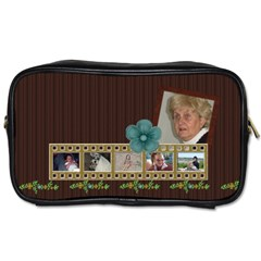 Kit H&h Toiletry Bag 1 By Lisa Minor   Toiletries Bag (two Sides)   9gtowd0uofy7   Www Artscow Com Front