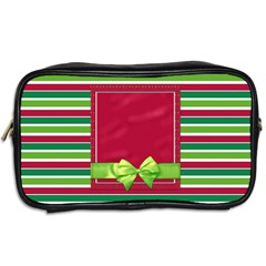 Merry And Bright Toiletry Bag 1 By Lisa Minor   Toiletries Bag (two Sides)   4mnb9ts8ayr8   Www Artscow Com Back