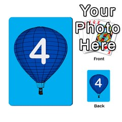 Balloon Game Remake By Amy Smith   Multi Purpose Cards (rectangle)   Dujdmfbgf3wz   Www Artscow Com Front 51