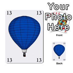 Balloon Game Remake By Amy Smith   Multi Purpose Cards (rectangle)   Dujdmfbgf3wz   Www Artscow Com Front 7
