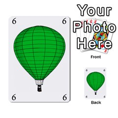 Balloon Game Remake By Amy Smith   Multi Purpose Cards (rectangle)   Dujdmfbgf3wz   Www Artscow Com Front 11