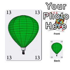 Balloon Game Remake By Amy Smith   Multi Purpose Cards (rectangle)   Dujdmfbgf3wz   Www Artscow Com Front 16