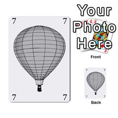 Balloon Game Remake By Amy Smith   Multi Purpose Cards (rectangle)   Dujdmfbgf3wz   Www Artscow Com Front 19