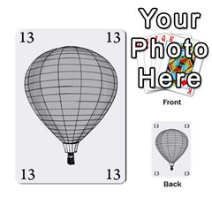 Balloon Game Remake By Amy Smith   Multi Purpose Cards (rectangle)   Dujdmfbgf3wz   Www Artscow Com Front 21
