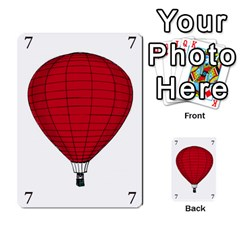 Balloon Game Remake By Amy Smith   Multi Purpose Cards (rectangle)   Dujdmfbgf3wz   Www Artscow Com Front 28