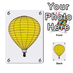 Balloon Game Remake By Amy Smith   Multi Purpose Cards (rectangle)   Dujdmfbgf3wz   Www Artscow Com Front 39