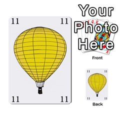 Balloon Game Remake By Amy Smith   Multi Purpose Cards (rectangle)   Dujdmfbgf3wz   Www Artscow Com Front 43