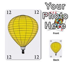 Balloon Game Remake By Amy Smith   Multi Purpose Cards (rectangle)   Dujdmfbgf3wz   Www Artscow Com Front 44