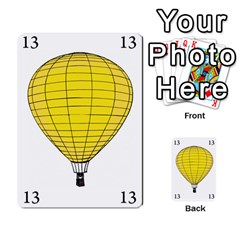 Balloon Game Remake By Amy Smith   Multi Purpose Cards (rectangle)   Dujdmfbgf3wz   Www Artscow Com Front 45