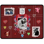 Valentine Medium Fleece Blanket - Fleece Blanket (Medium)