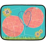 Easter theme-Mini Fleece Blanket  - Fleece Blanket (Mini)
