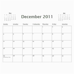 2011 Cal By Debi King   Wall Calendar 11  X 8 5  (12 Months)   Gnk4b2x88n6n   Www Artscow Com Dec 2011